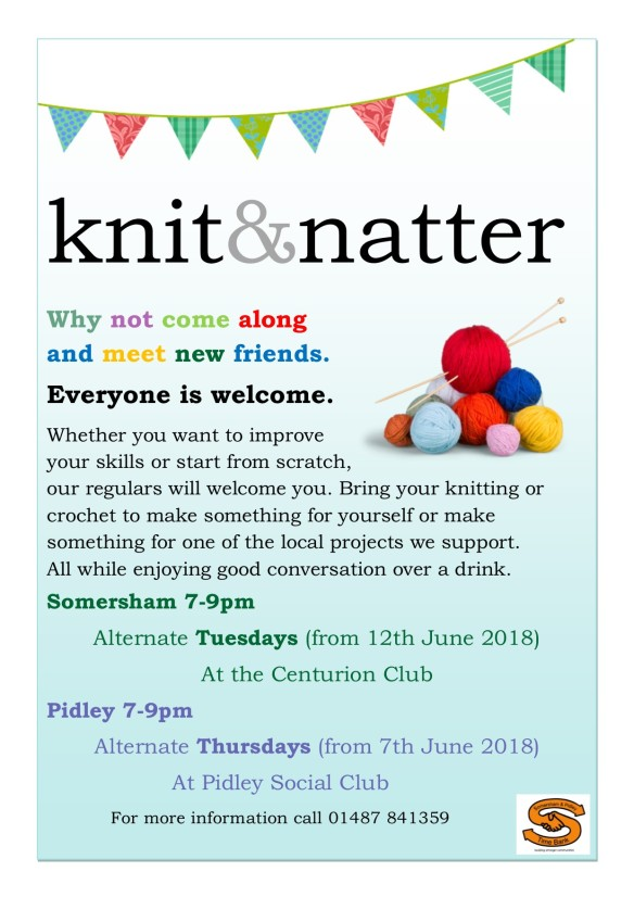 Knit and natter poster_2018